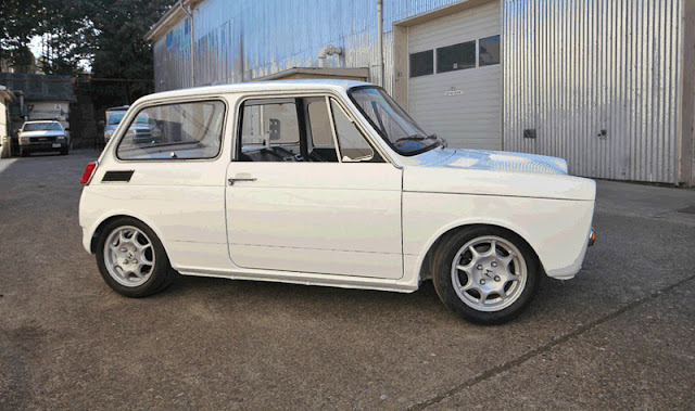 1972 Honda N600 race car - Subcompact Culture