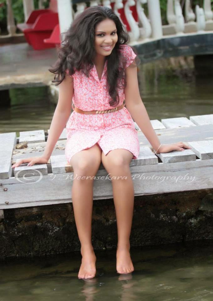 Imasha Dilshani pink gala