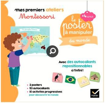 Le poster du monde / Montessori
