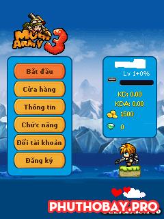 Tải Game Army 344 Chia Thanh Lực, Auto Click, Phím Số mod by phuthobay.pro