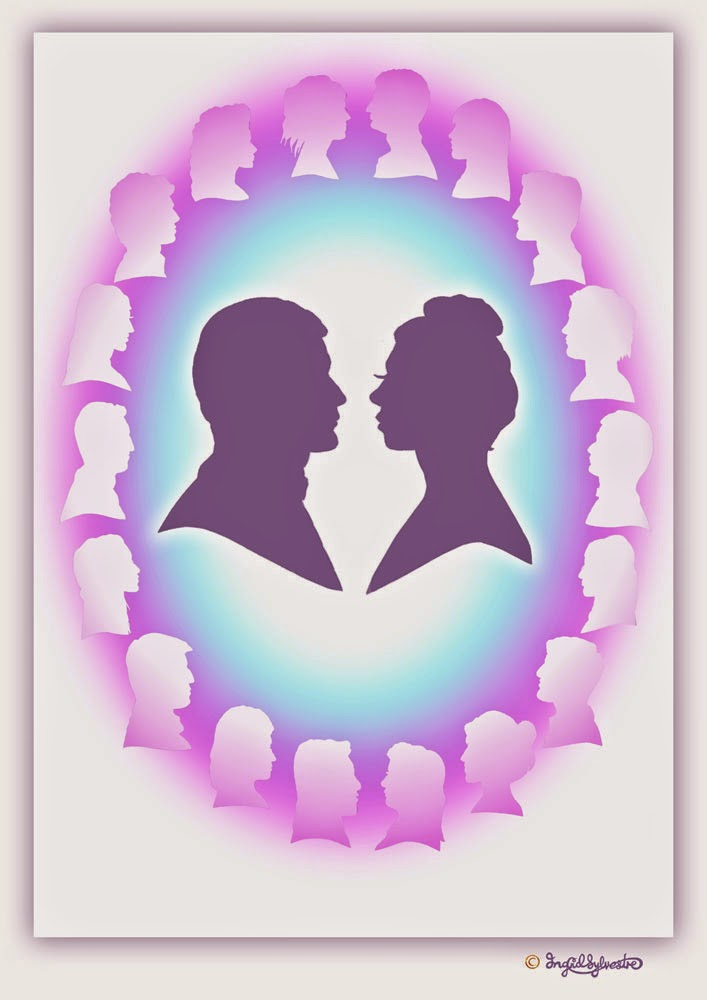 Wedding entertainment silhouettes North East UK Durham Newcastle upon Tyne Sunderland Teesside Northumberland