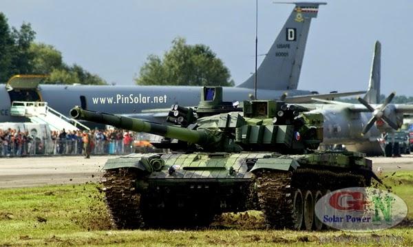 Quân đội NATO dùng năng lượng tái tạo trong chiến tranh