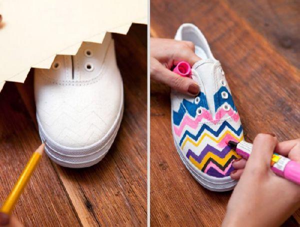 Como renovar tus viejas zapatillas
