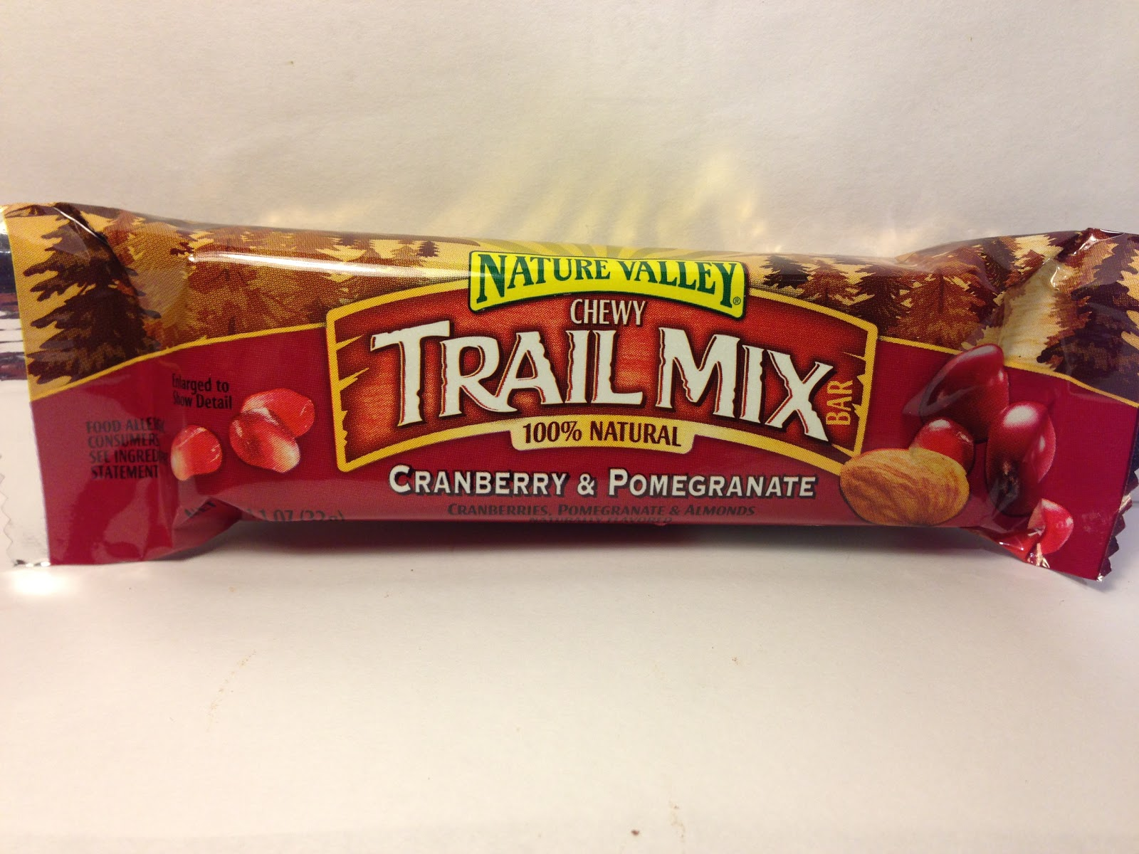 ... : Review: Nature Valley Chewy Trail Mix Cranberry & Pomegranate Bar