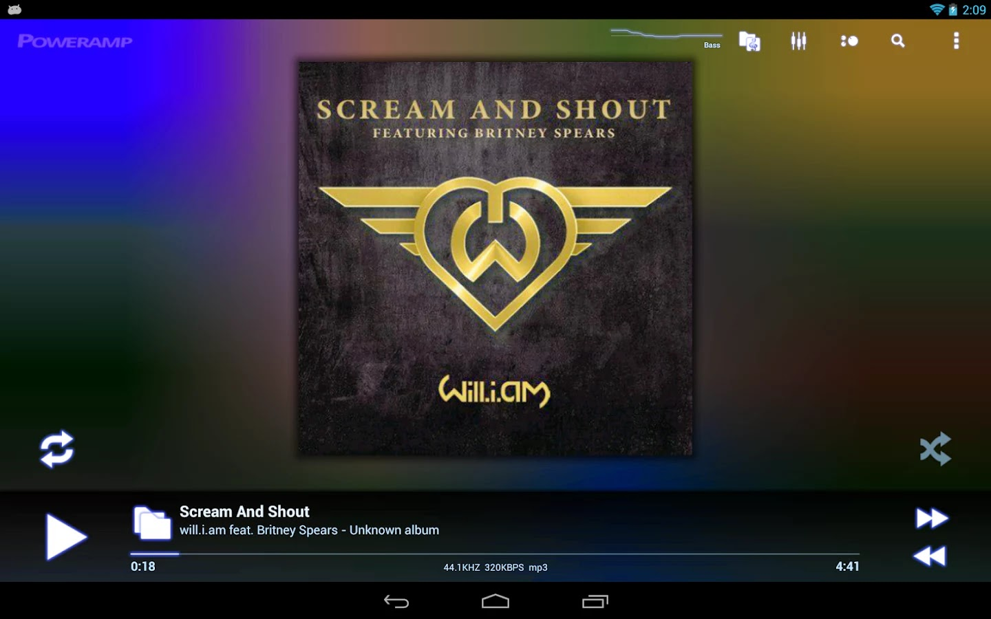 Poweramp Music Player (Full) v2.0.9-build-558