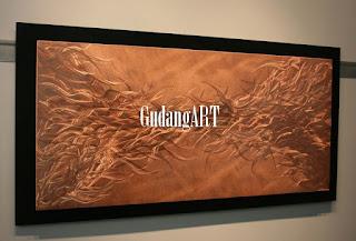 Keindahan seni kriya logam kerajinan tembaga dan kuningan