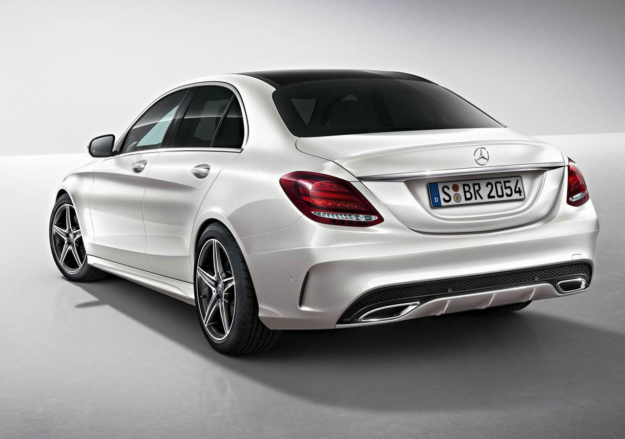 Automotiveblogz 2015 mercedes benz c class amg line for Mercedes benz 300 amg