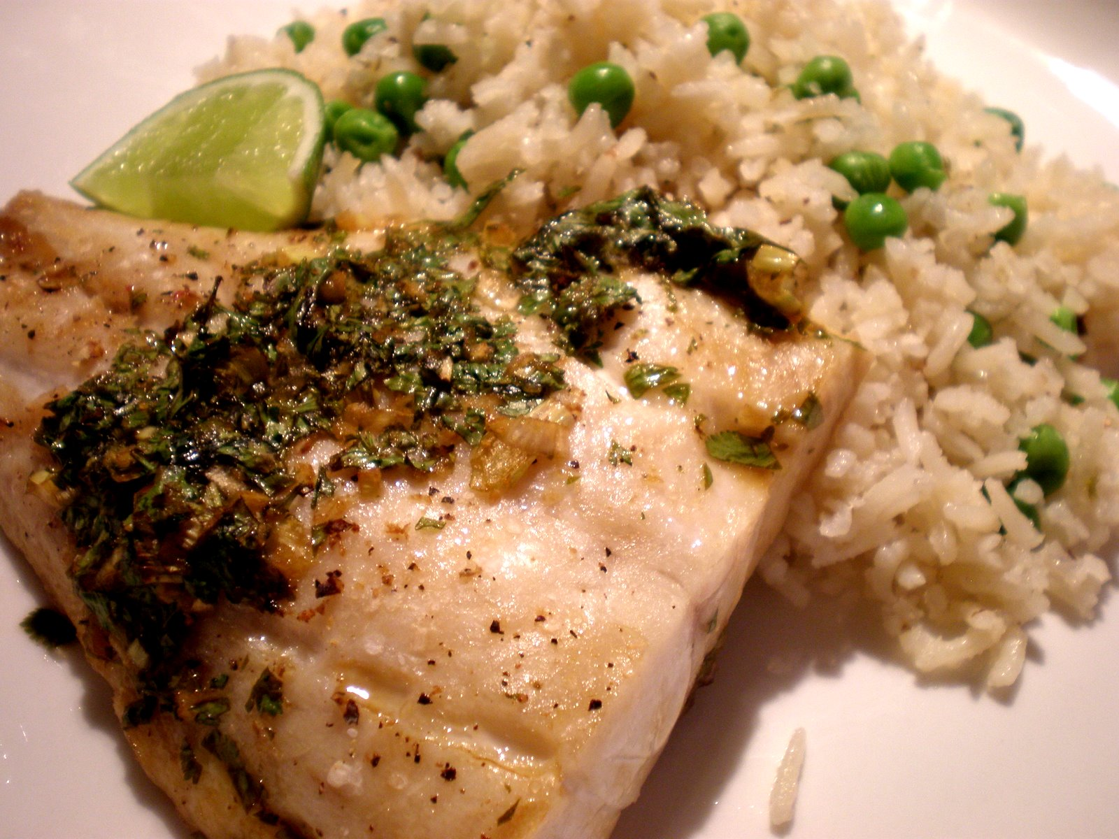 Red Snapper With Cilantro, Garlic, And Lime Recipe — Dishmaps