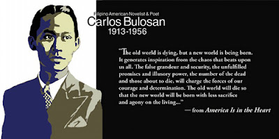 reaction of my father s tragedy by carlos bulosan My father's tragedy is a story written by carlos bulosan the story is about a father and his children who grow up cockfighting more than being a family carlos bulosan is known for his non-fiction stories.