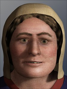Skull binding reconstruction of the face of a hunnish woman history pinterest the face