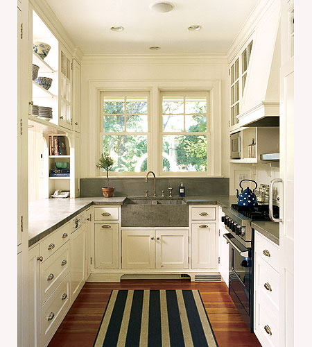 All Amazing Designs: Galley Kitchen Designs