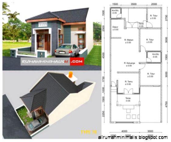 Desain Rumah Minimalis Type 70 Design Rumah Minimalis