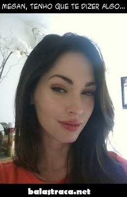 megan fox morena, surpresa