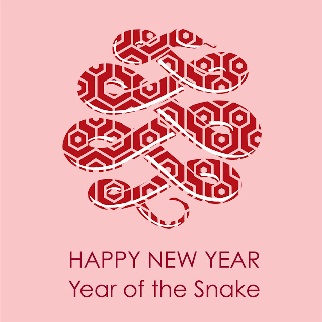 chinese snake year ipad wallpaper 01
