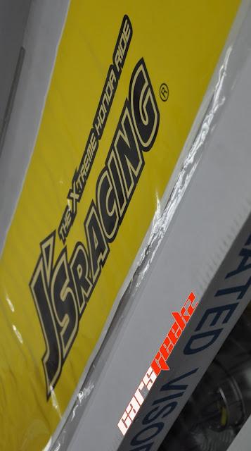 js racing windscreen