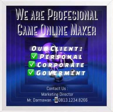PROFFESIONAL GAME ONLINE MAKER