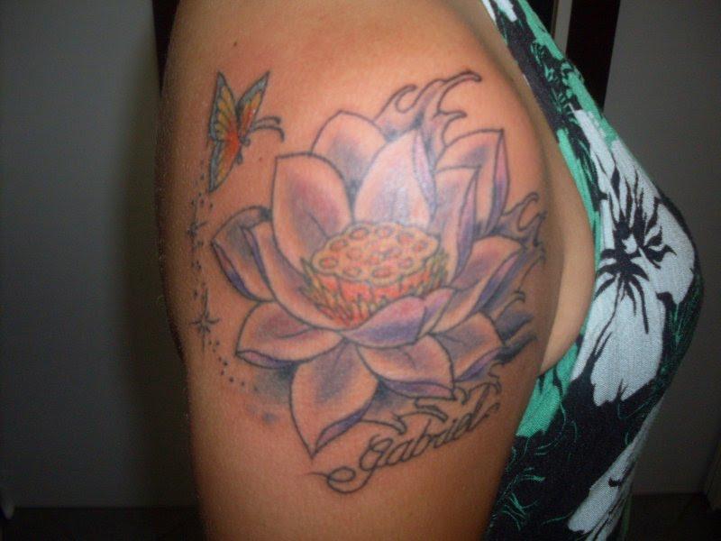 Flor De Lotus Tattoo