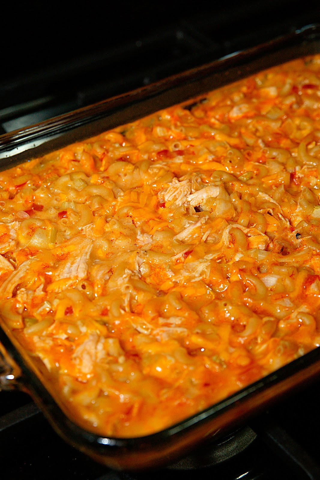 Buffalo Chicken Casserole