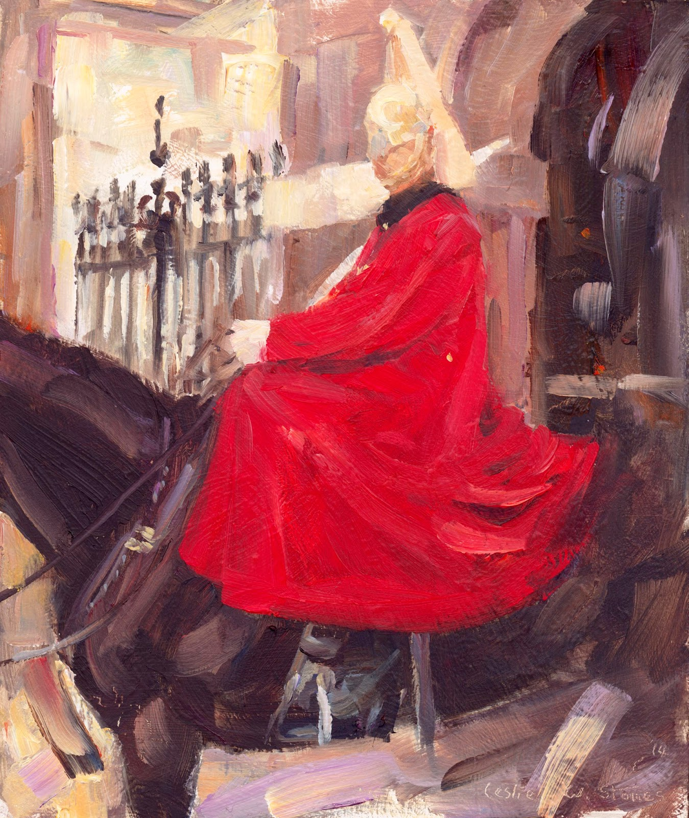 Horse Guards painting