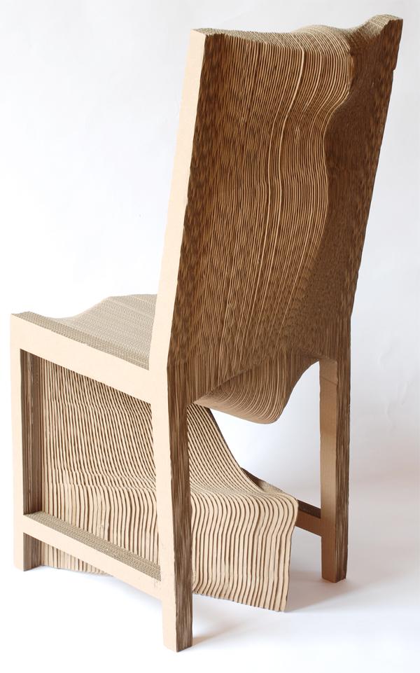 Yaffe Mays, Stefan 4 Corrugated cardboard. 2010