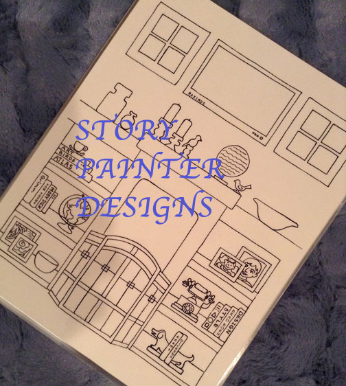 Story Painter Designs on Etsy
