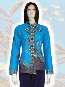 model baju batik hem