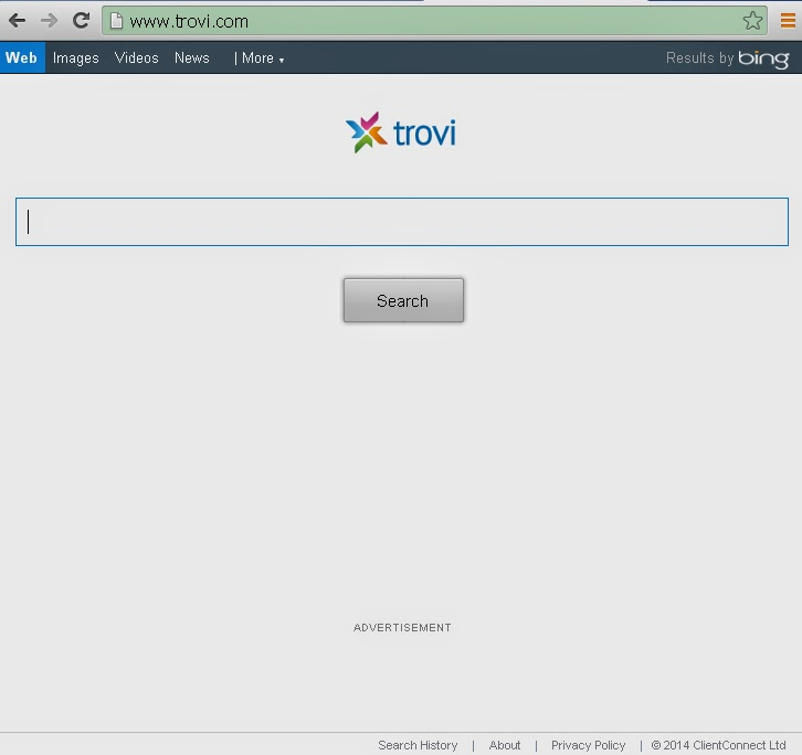 Virus Removal Instruction Trovi Search And Trovi Com
