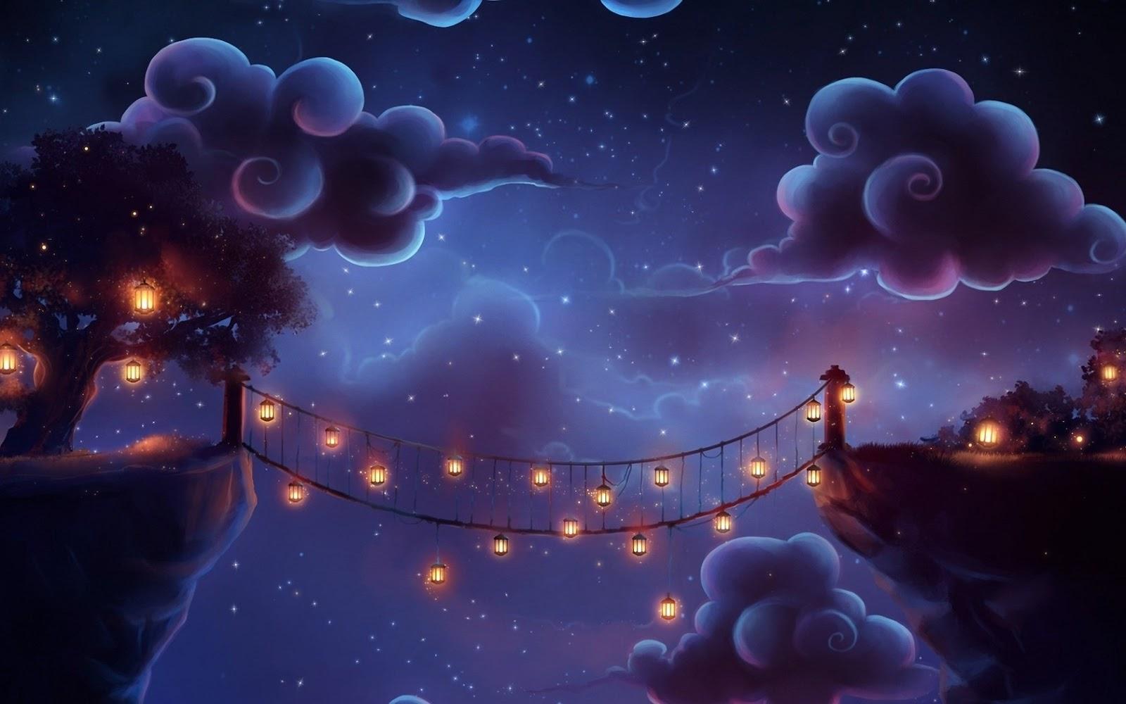 Bridge Garden Picture Animated Wallpapers