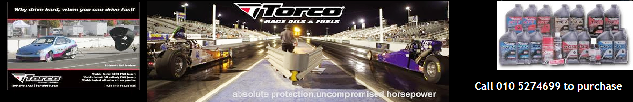 TORCO Lubricants and Race Fuel