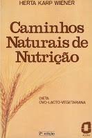 capa Caminhos Naturais de Nutrição
