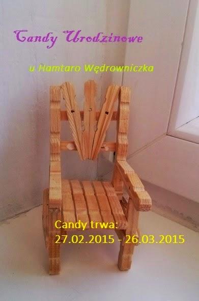 Candy na blogu Hamtaro Wędrowniczka