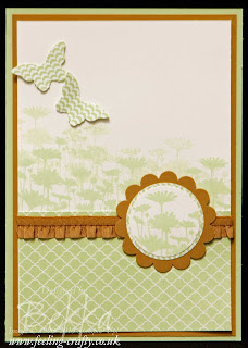 Pastachio Pudding Best of Flowers Card by UK based Stampin' Up! Demonstrator Bekka Prideaux.  Check her blog for lots of ideas with this stamp set
