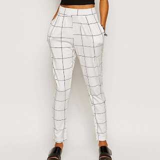 ASOS check trousers