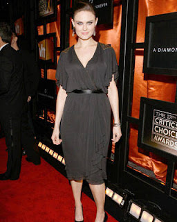 Emily Deschanel at the Critics' Choice Awards