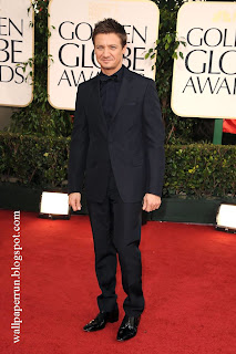Jeremy Renner attends the 68th Annual Golden Globe Awards in Beverly Hills