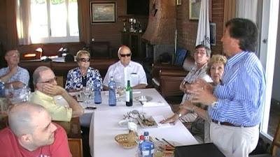 El President de l'Aeroclub fa una oda als anys d'amistat amb en Josep Maria Royo.
