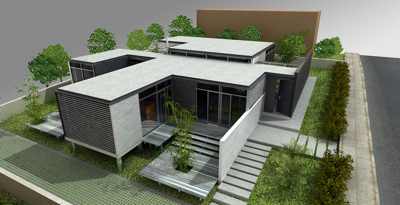 Cavica proyectos de arquitectura casa alzate martinez 2010 for Accesos arquitectura