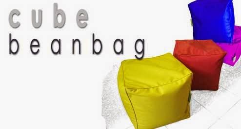 Sofa Bean Bag Bentuk Kubus