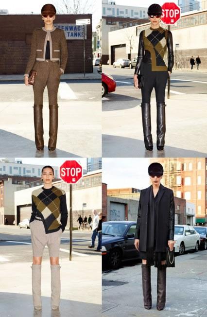 Lea T na campanha masculina da Givenchy (Foto: Cortesia Elian Gallardo Agency)