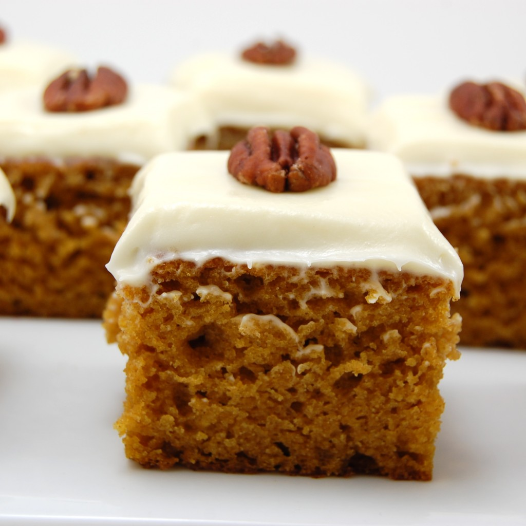 Pumpkin Walnut Cake Roll