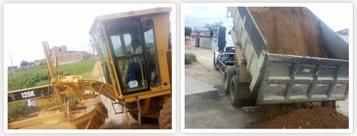 Prefeitura de Limoeiro continua trabalho de recuperação de ruas