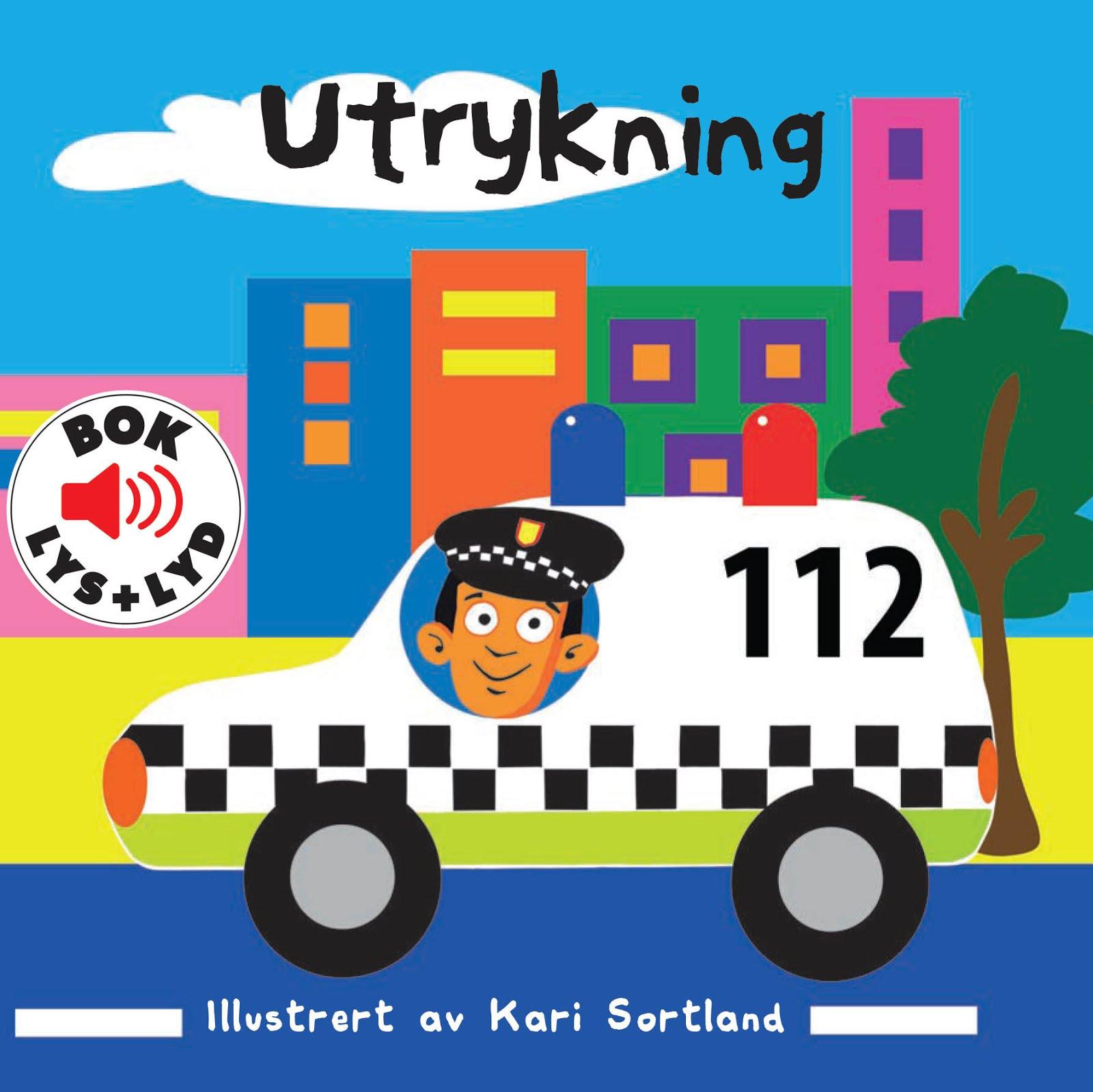 Utrykning, Kari Sortland barnebok illustrasjon