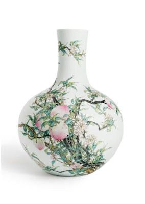 Imperial Qianlong period bottle vase