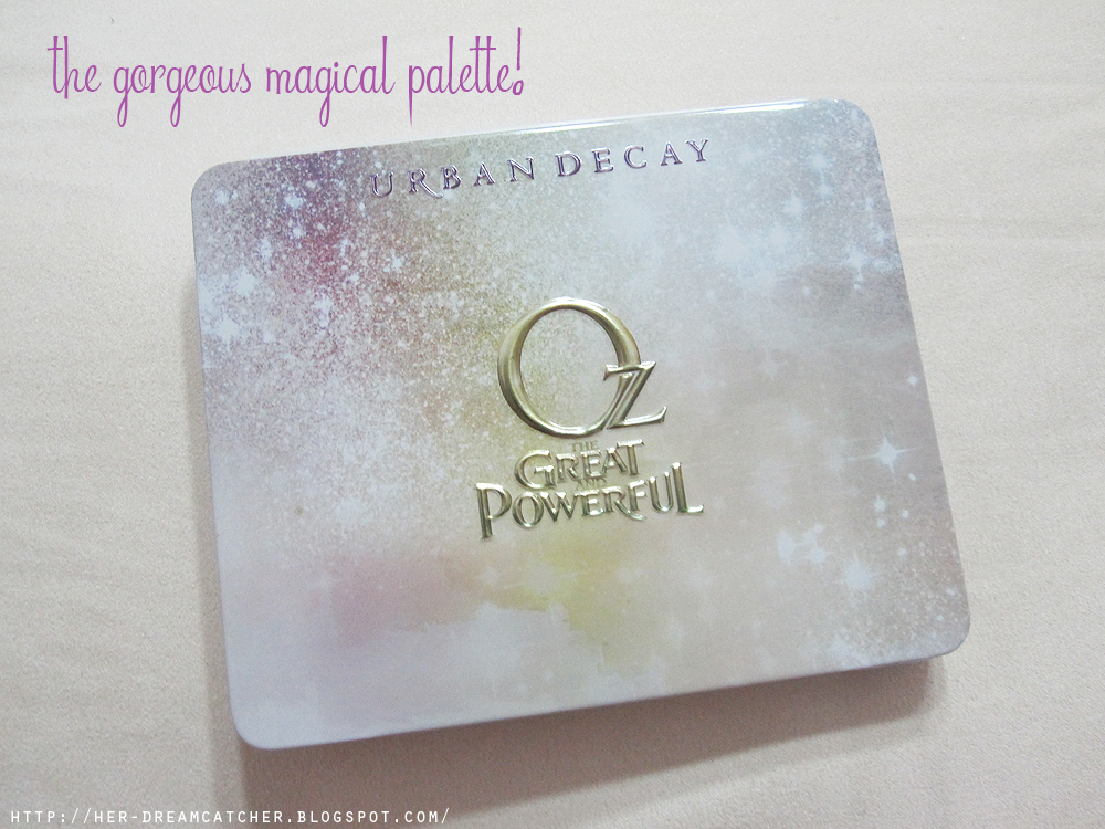 Urban Decay Glinda Palette Review