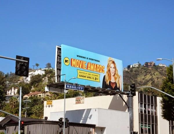 MTV Movie Awards 2015 billboard