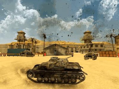 tank battlefield 3d mod apk