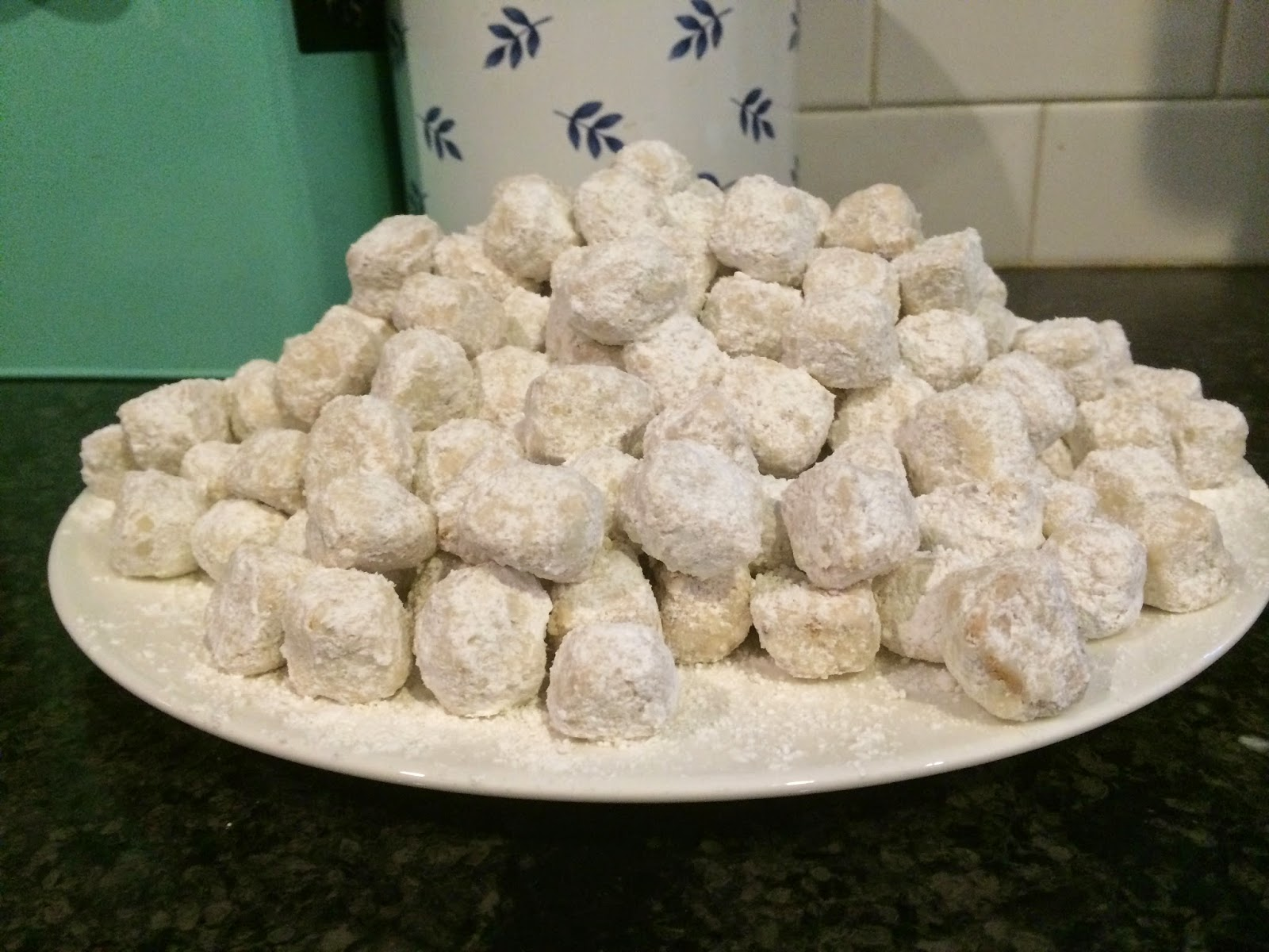Edge Desserts Snowball Cookie Bites Aka Mexican Wedding Cookies