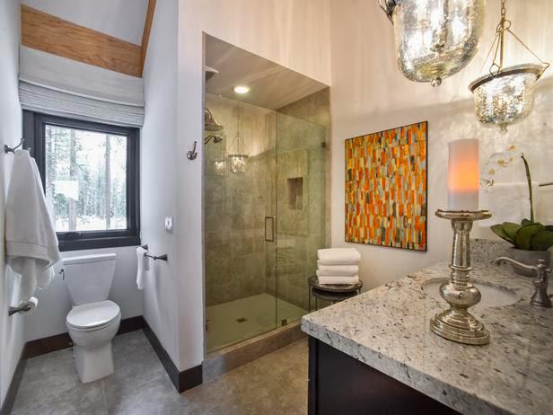 Modern Furniture Hgtv Dream Home 2014 Guest Bathroom