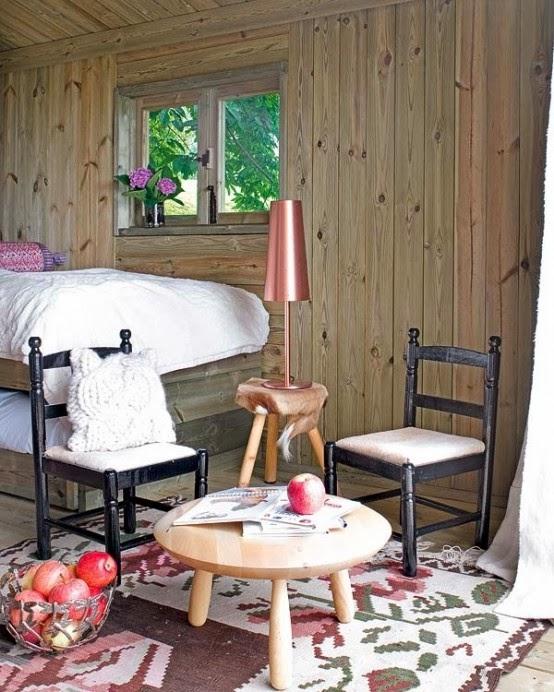 desain rumah kayu pedesaan
