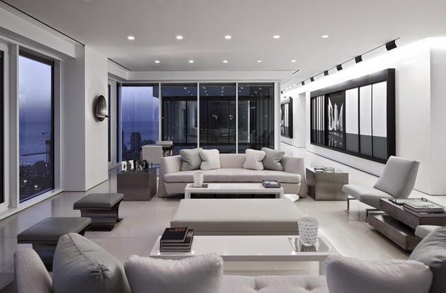 Apartamento moderno en tel aviv minimalistas 2015 for Apartamentos minimalistas